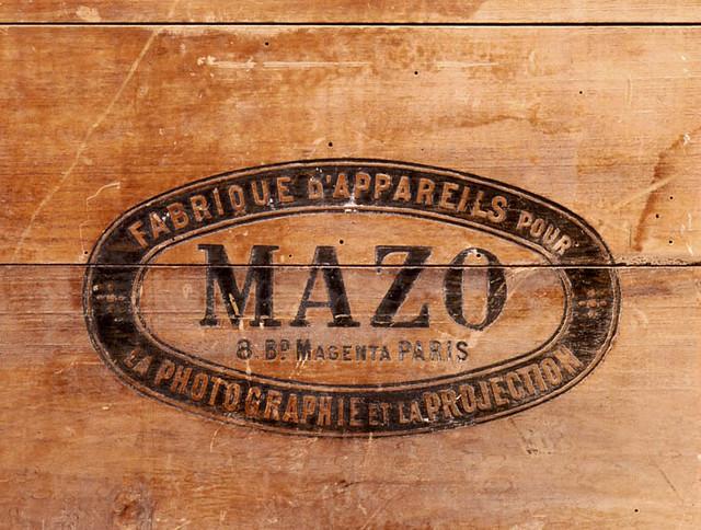 Sello de Mazo, Fabrique d´Appareils por la photographie et la Projection