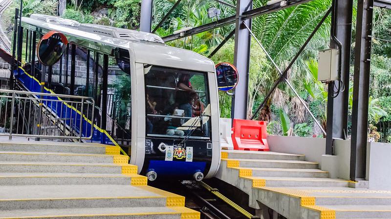 The train up to Penang Hill / Bukit Bendera