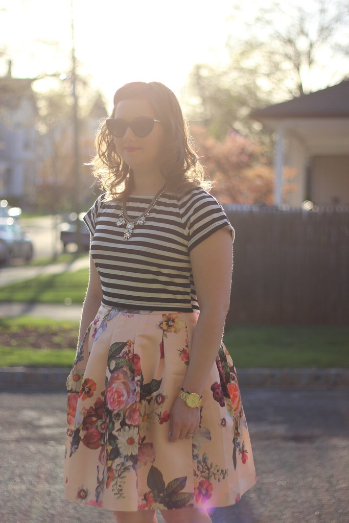 Stripes and Floral Ted Baker (3)