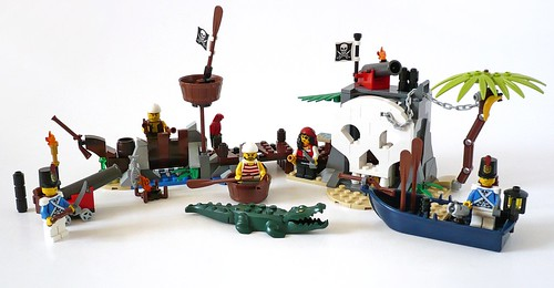 LEGO Pirates 70411 Treasure Island 12