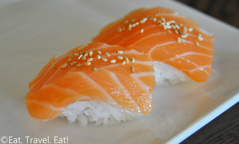 Sugarfish by Sushi Nozawa (Waterside)- Marina Del Rey, CA: Salmon Nigiri
