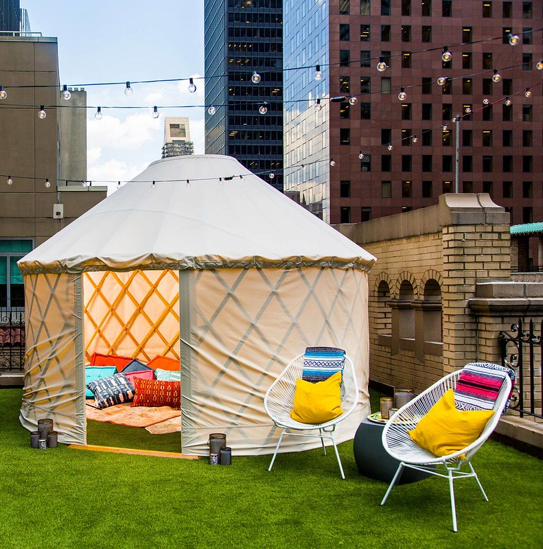 Glamping at the W New York