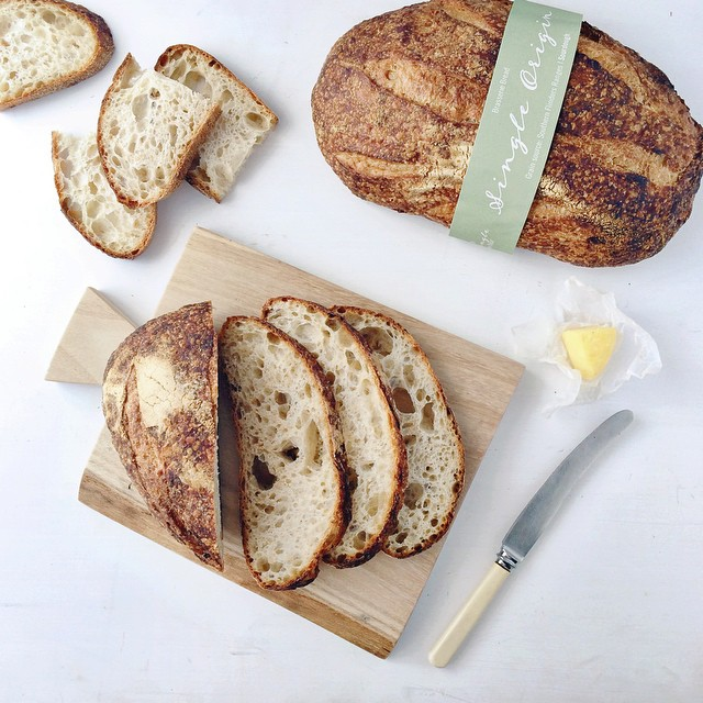 When two gorgeous single origin sourdough loaves from @brasseriebread land on your doorstop you find an excuse to put all the things on bread. All.the.things. . . .  Seriously loving that they're working directly with an Aussie farmers for the wheat in th