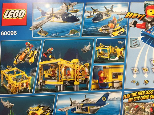 LEGO City Deep Sea Operations Base (60096)