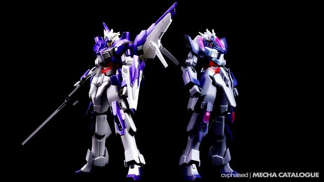 HGBF Cathedral Gundam & Denial Gundam - Comparative Color Study