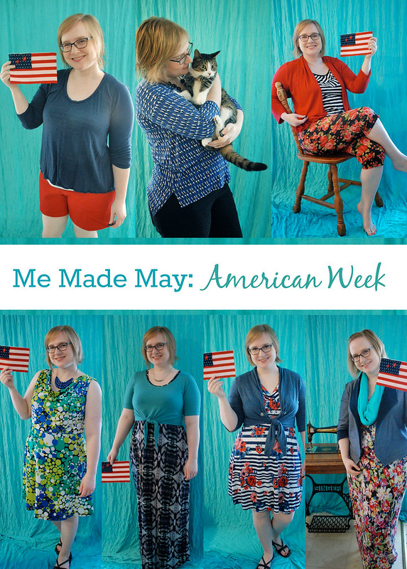 American Week Collage