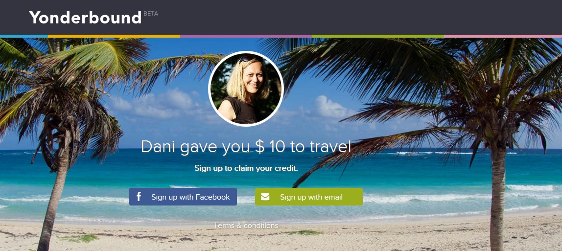 yonderbound travel credit