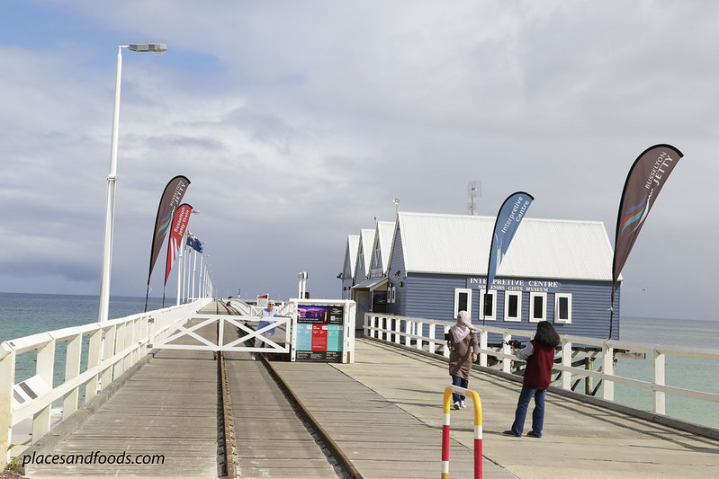 busselton jetty train tracks