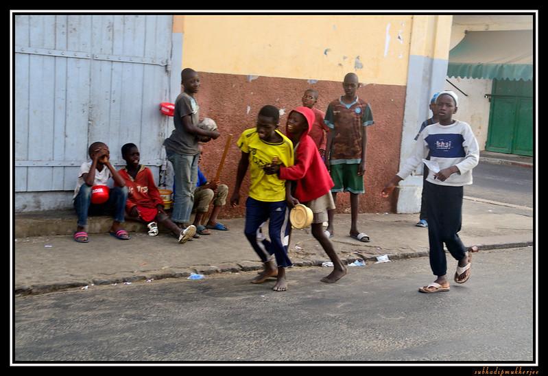 Street Children - St Louis