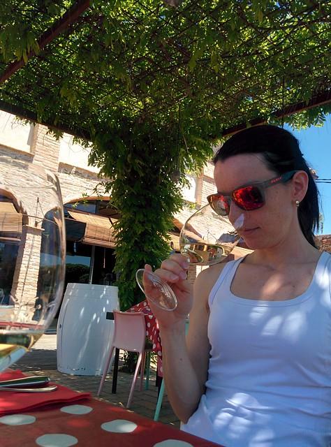 Lunch och vinprovning