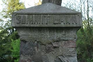 2015-5-28. Summit Lawn pillar