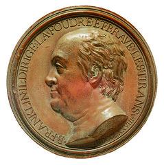 Terra Cotta Franklin medal ICP II