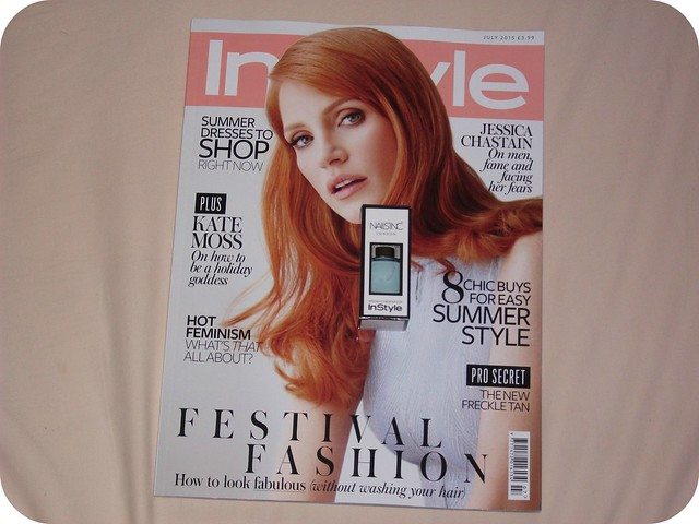 July Magazine Freebies Instyle Nails Inc Nail Polish