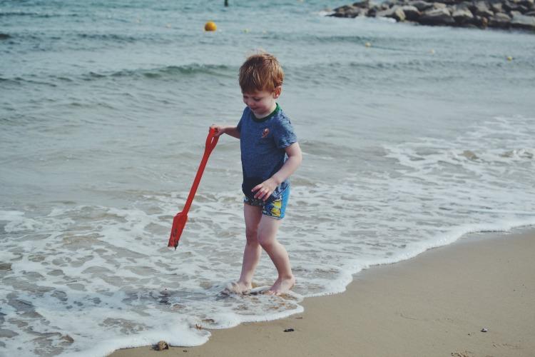beach paddle