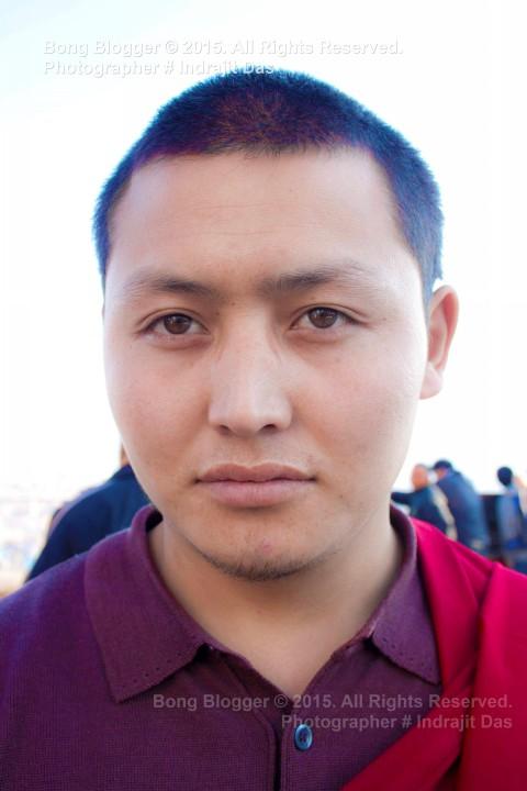 Faces of Nepal - Monk at Kathmandu, Nepal
