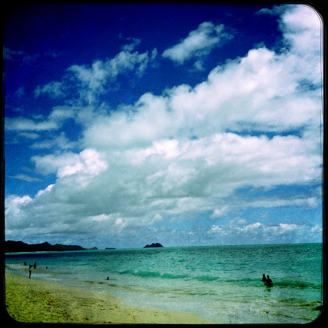 #Oahu #Beaches #Sky #Ocean #Hawaii #Hipstamatic