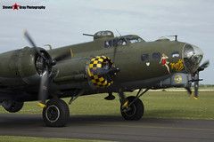 G-BEDF 41-24485 - 44-85784 - B-17 Preservation Ltd - Boeing B-17G Flying Fortress - Duxford, Cambridgeshire - 150523 - Steven Gray - IMG_4393