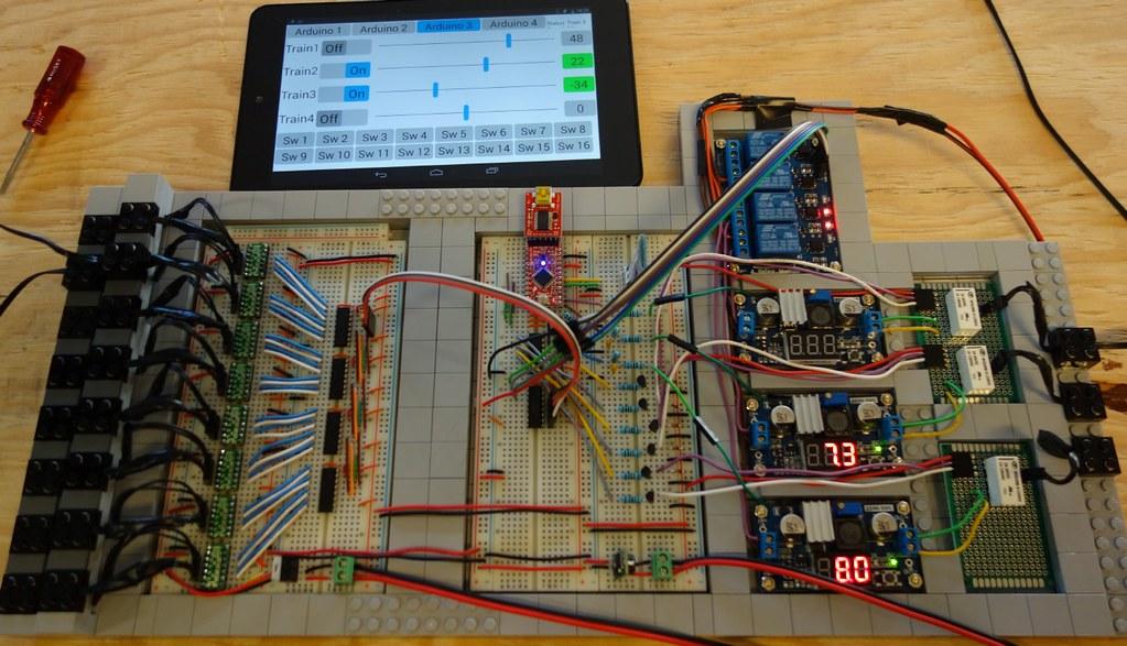 Arduino v controller my rd gen lego train tech