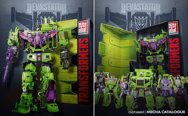 SDCC 2015 Exclusive - TRANSFORMERS Generations Titan Class Devastator