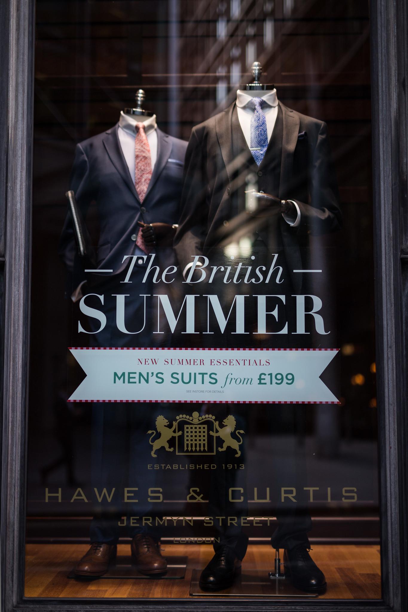 Hawes & Curtis British Summer