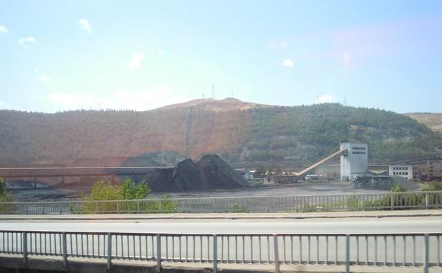 番紅花城外的煉鋼廠-儲煤區