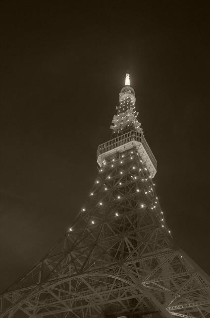 Tokyo Tower Rainbow Diamond Veil 10