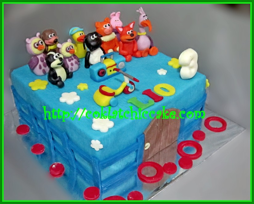 Cake Timmy Time