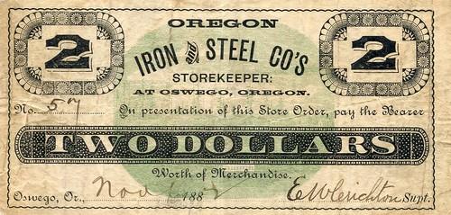 Oregon Iron & Steel-200