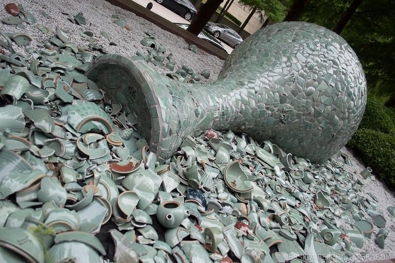 Celadon Landscape Crow Collection Asian Art Dallas