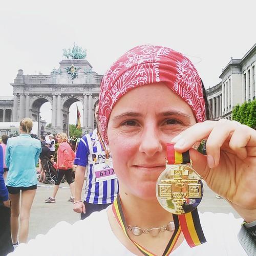 Ik deed iets waarvan ik dacht dat het onmogelijk was. Ik liep de 20 van Brussel in minder dan 2 uur. #zotjes #1:58 #beetjeemotioneelnu #20kmbru
