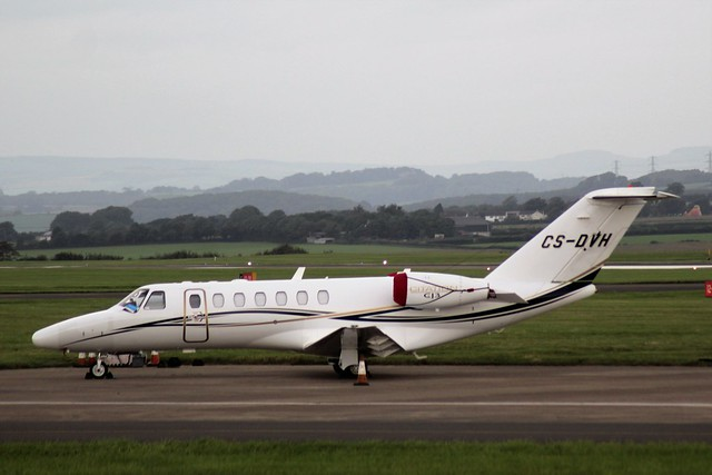 Cessna 525B CitationJet CJ3 CS-DVH 24SEP16