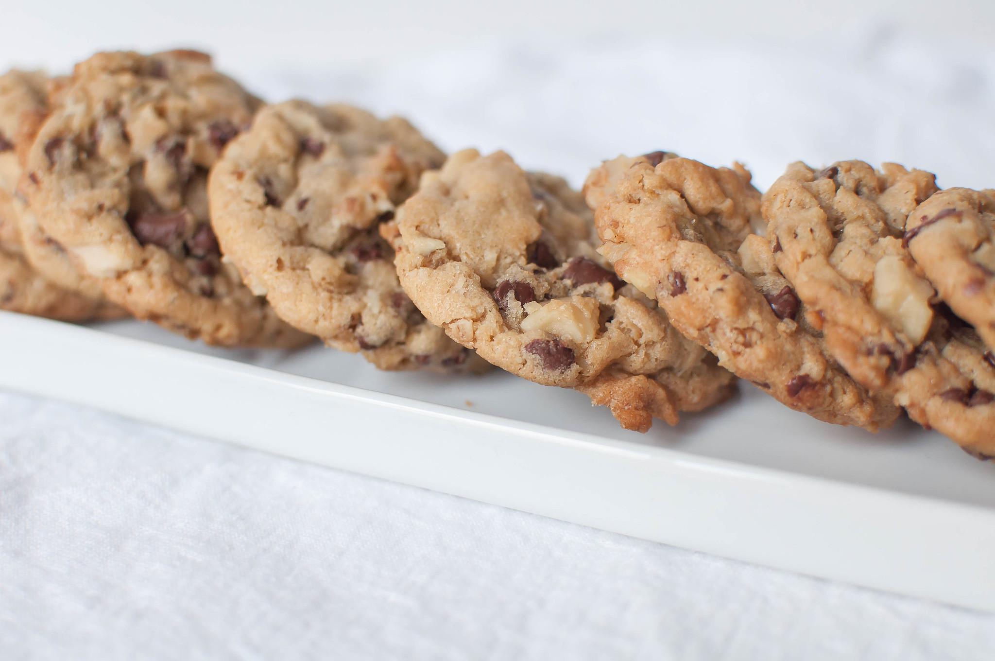 Oatmeal Chocolate Chip Cookies 5