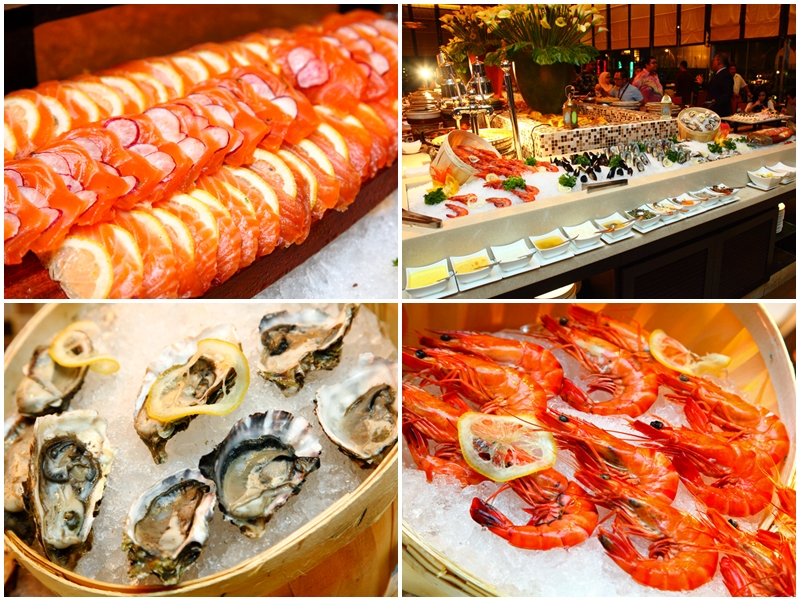 Fresh Seafood Tonka Bean Ramadan Buffet