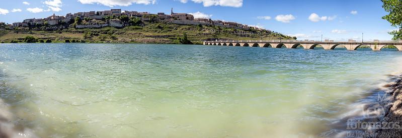 Panoramica Maderuelo y embalse de Linares