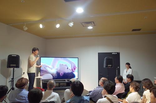 Mr. Yukio Uchida Talk on portrait