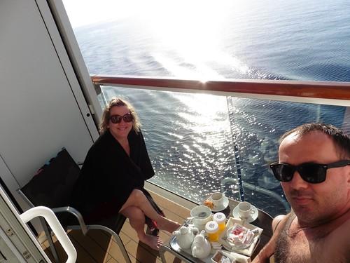 Balcony cabin on MSC Lirica
