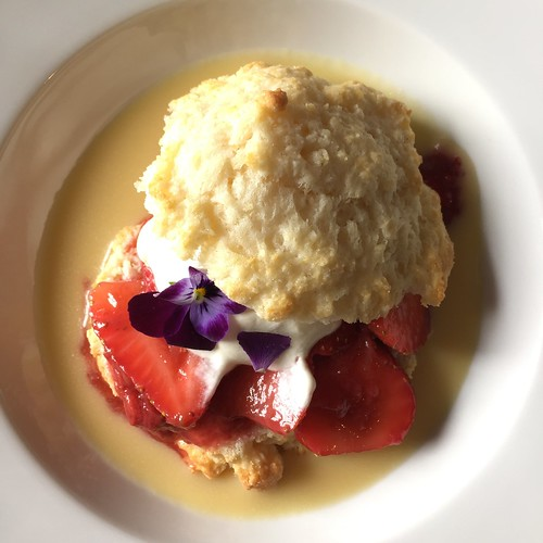 Strawberry shortcake delight.
