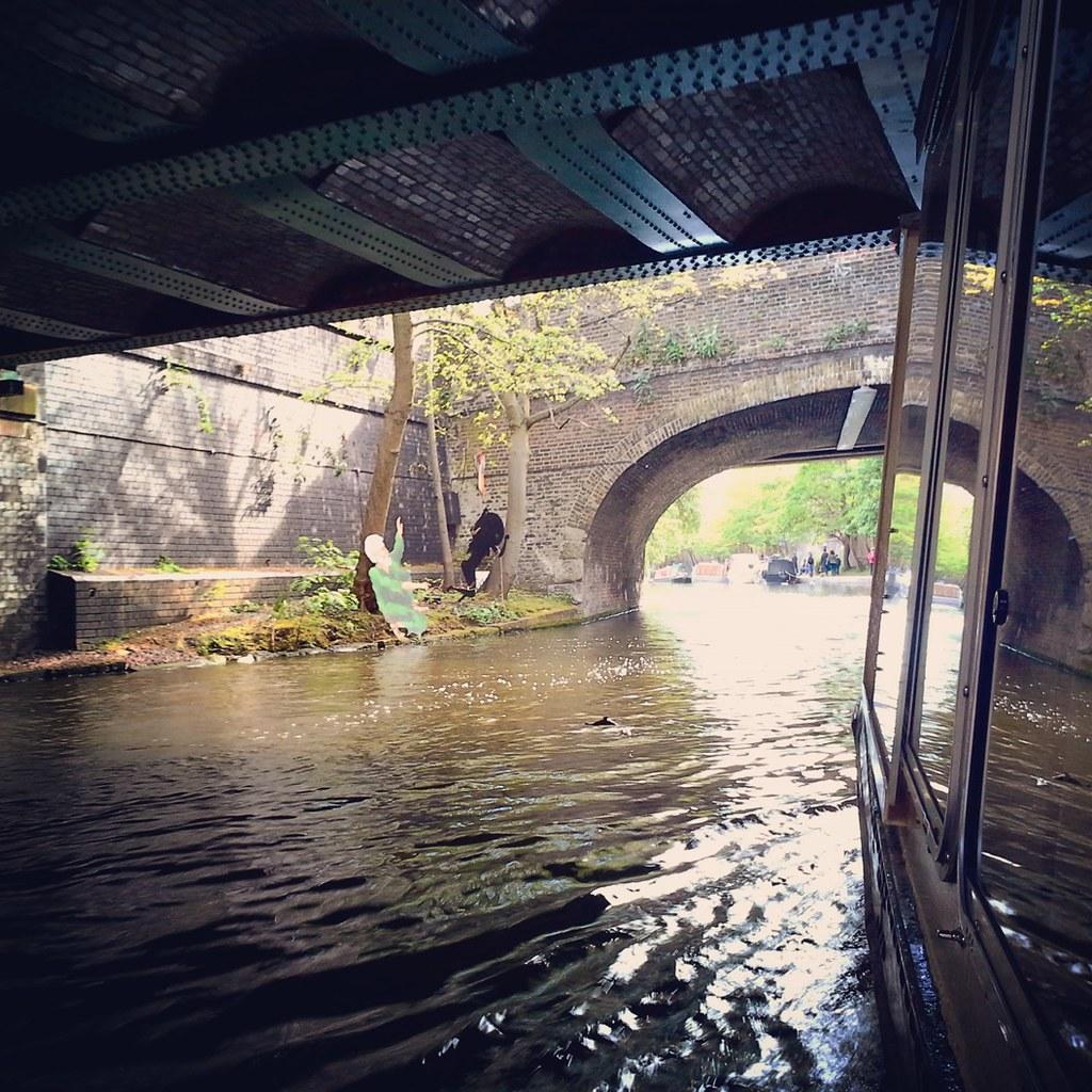 Londra: navigando lungo il Regent Canal