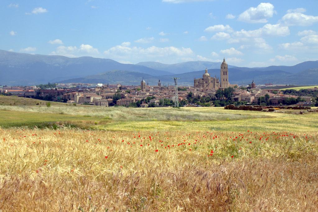 por Segovia y en Zamarramala
