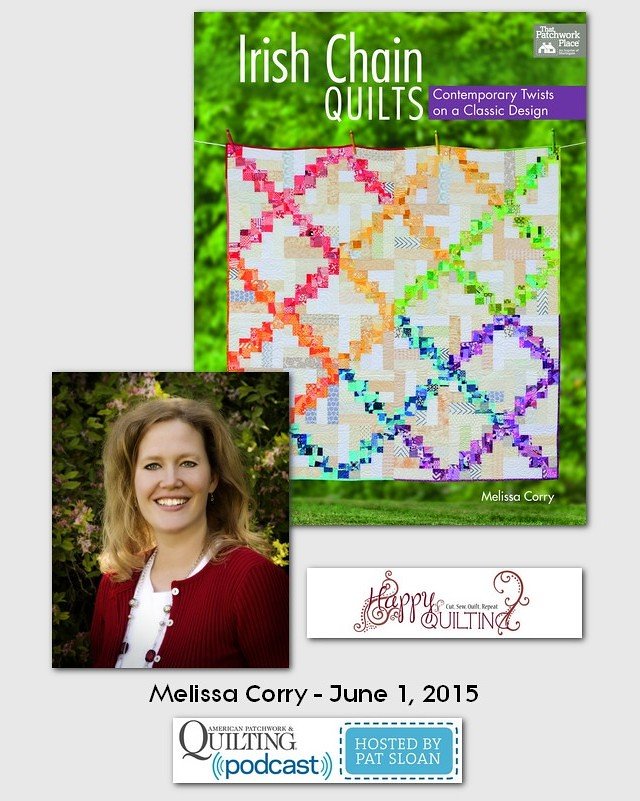 American Patchwork and Quilting Pocast guest Melissa Corry June 2015