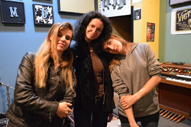Hydra, post performance, at WFMU