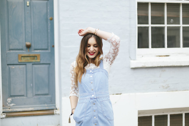 What Olivia Did Topshop Denim Dress