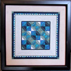 Ocean Waves needlepoint