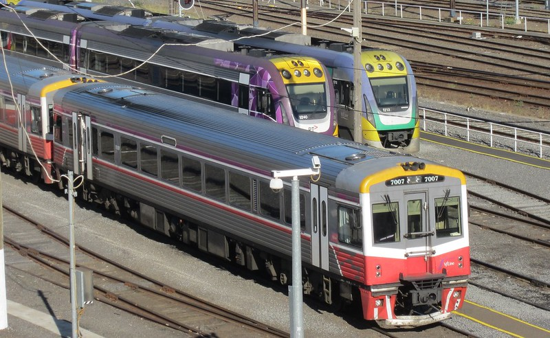 V/Line trains at Southern Cross