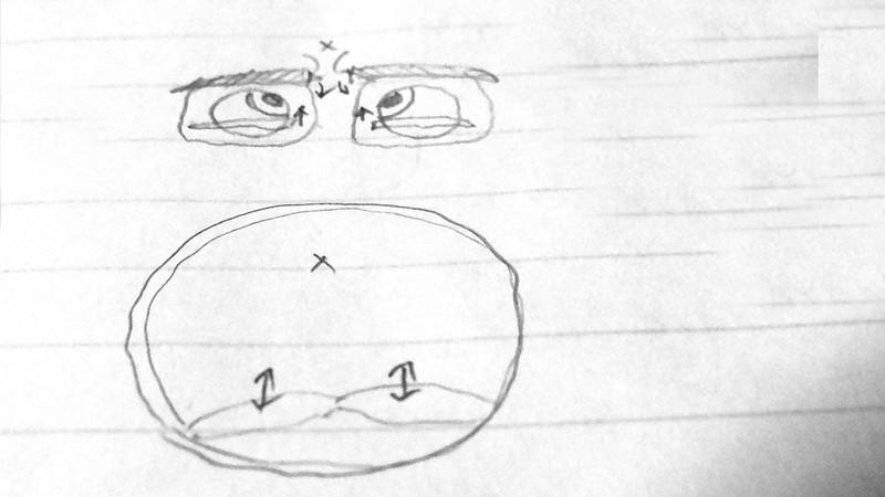 自力で3日で簡単に二重まぶたにする方法(実践編)【新・視力回復法】ブログネタ用 (3)