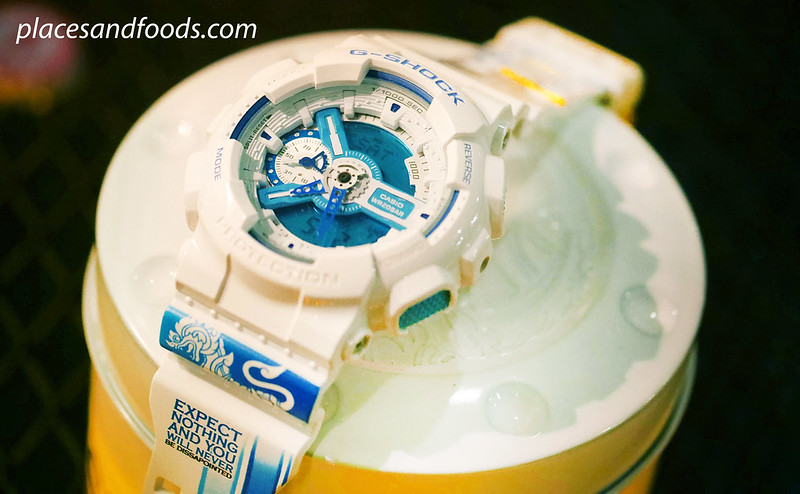 casio g shock blue