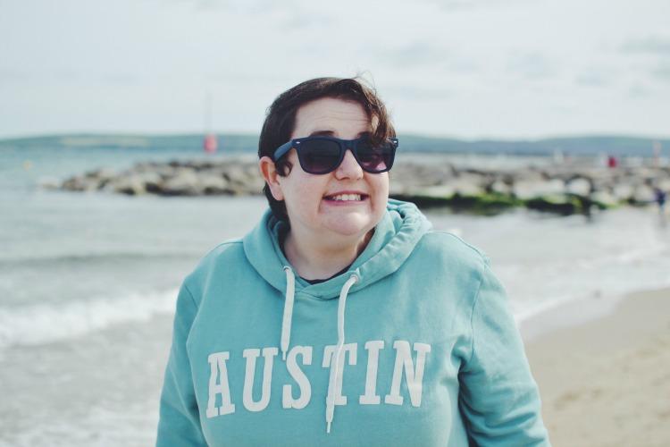 beach grin