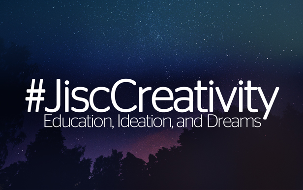 Dreaming and ideating about higher education and technology at Jisc Creativity