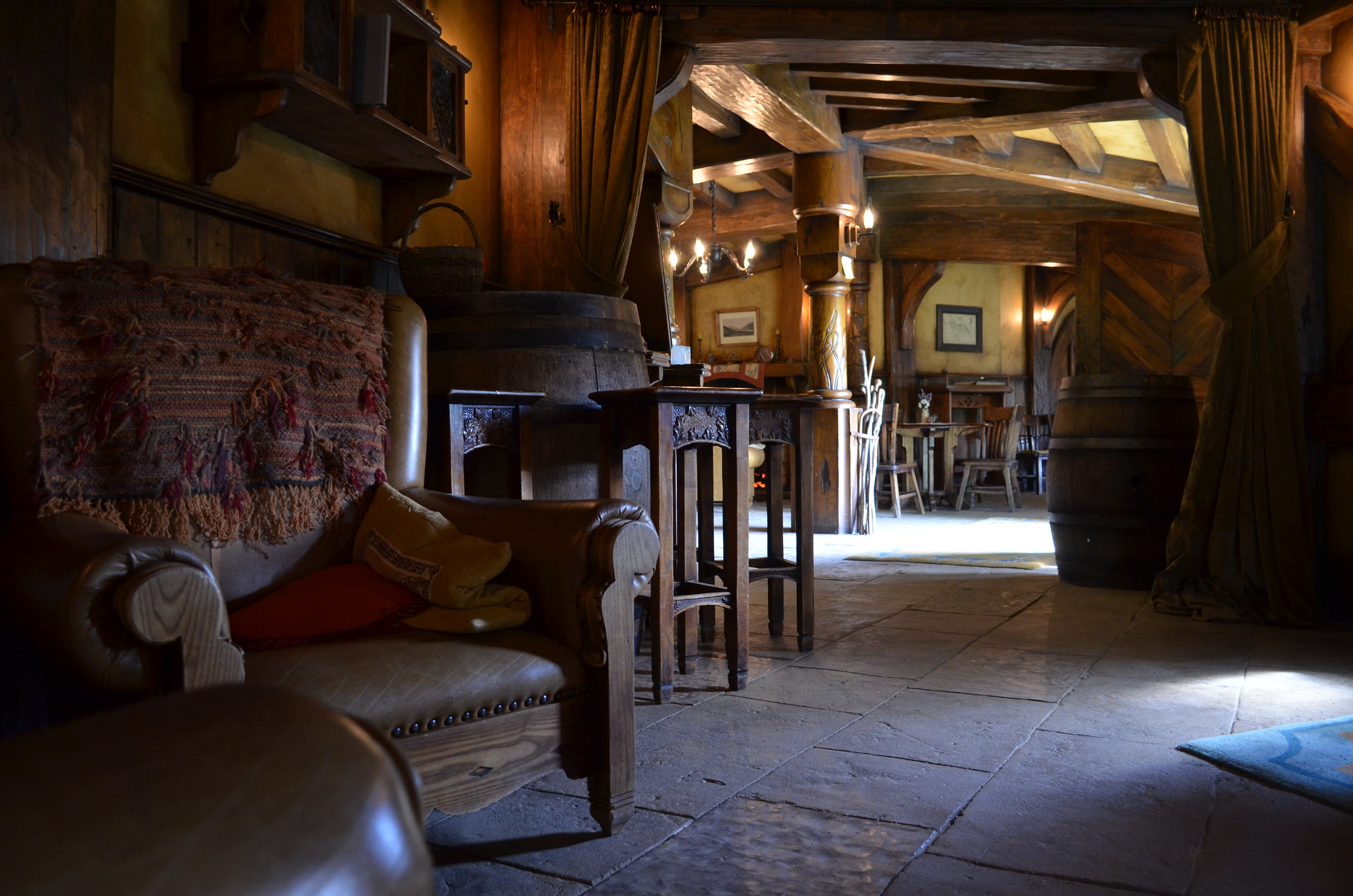 Interior of The Green Dragon