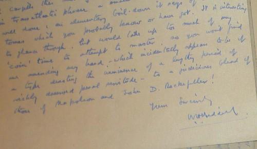 Grogan letter a